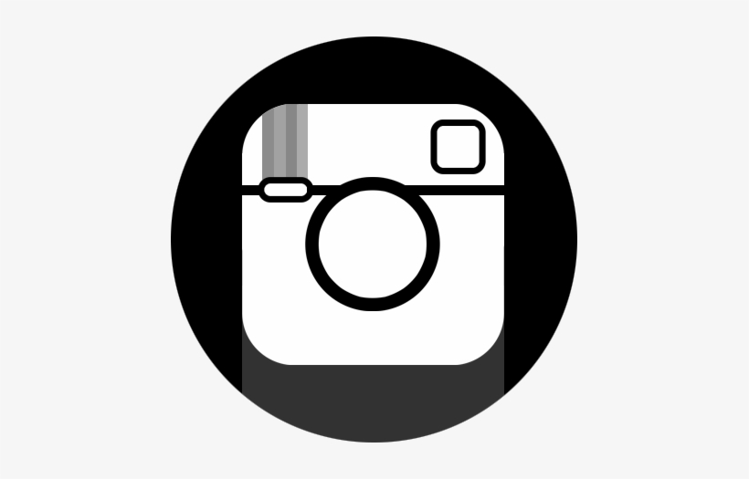 Instagram Black Circle - Protein, transparent png #433126