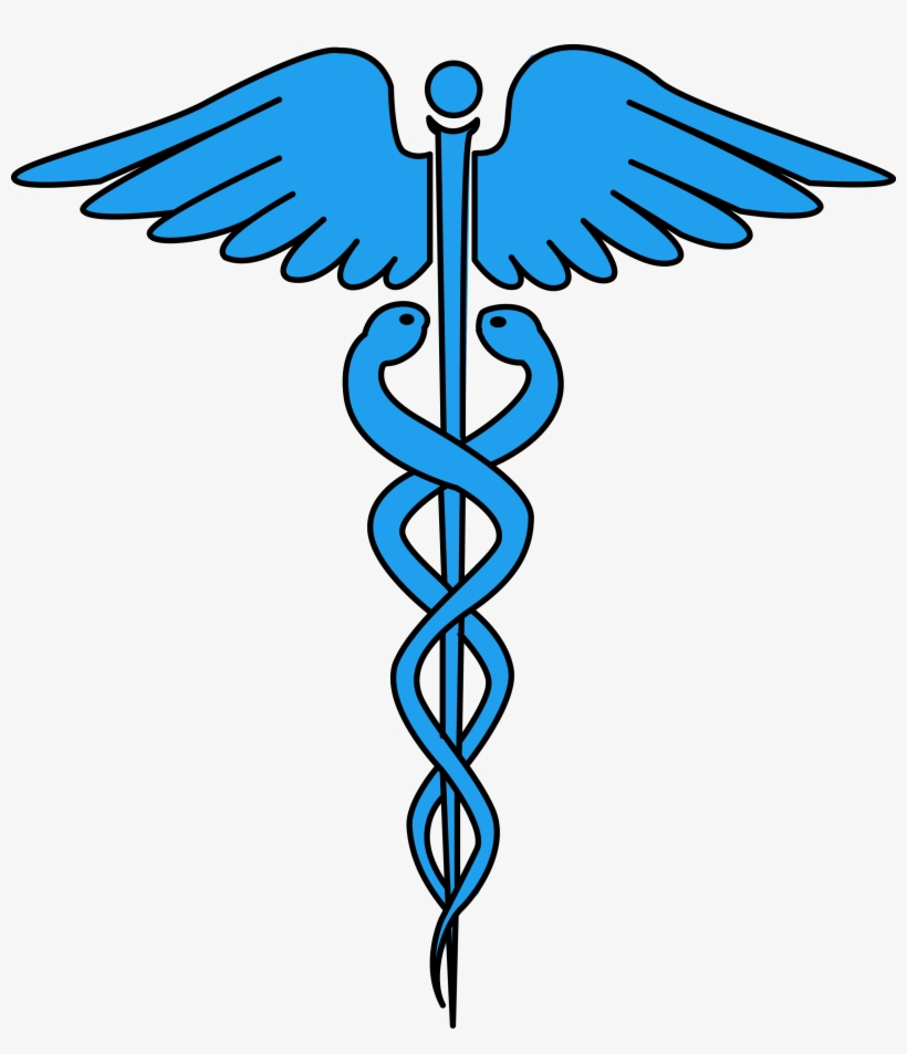 Image For Free Caduceus Medical Symbol Health High - Medical Symbol High Resolution, transparent png #433372