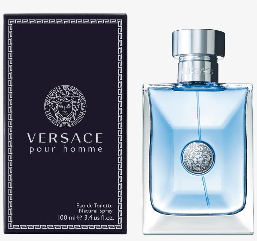 Pour Homme 100 Ml - Versace - Pour Homme 100ml Eau De Toilette Spray For, transparent png #434682
