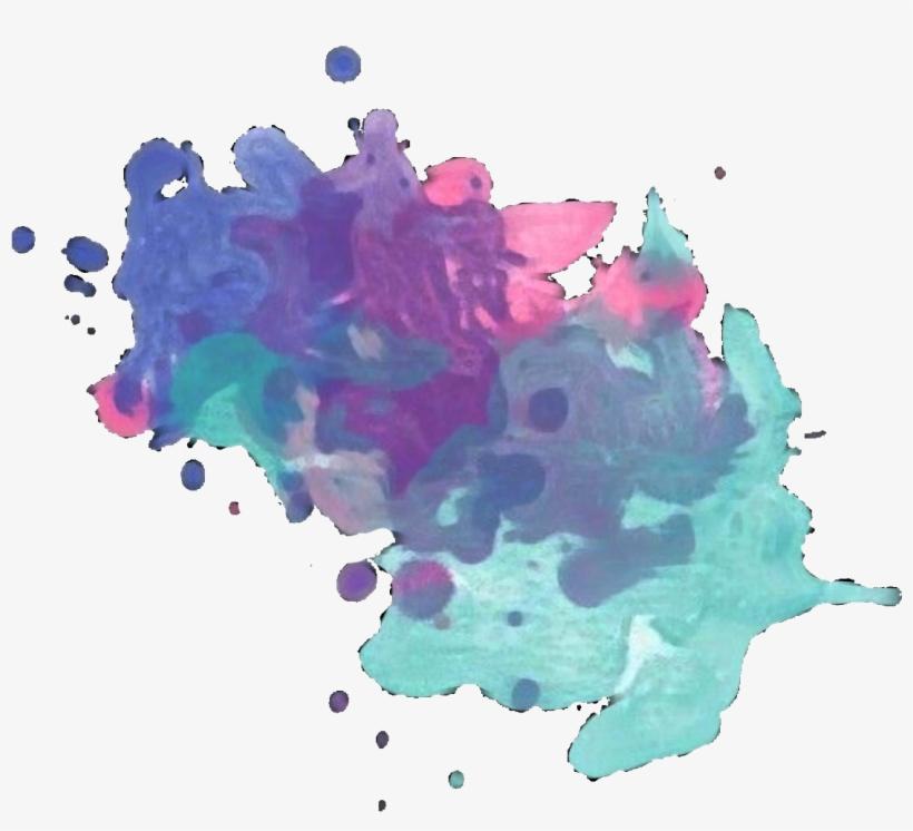 Ftestickers Paint Paintsplatter Brushstrokes Overlay - Paint