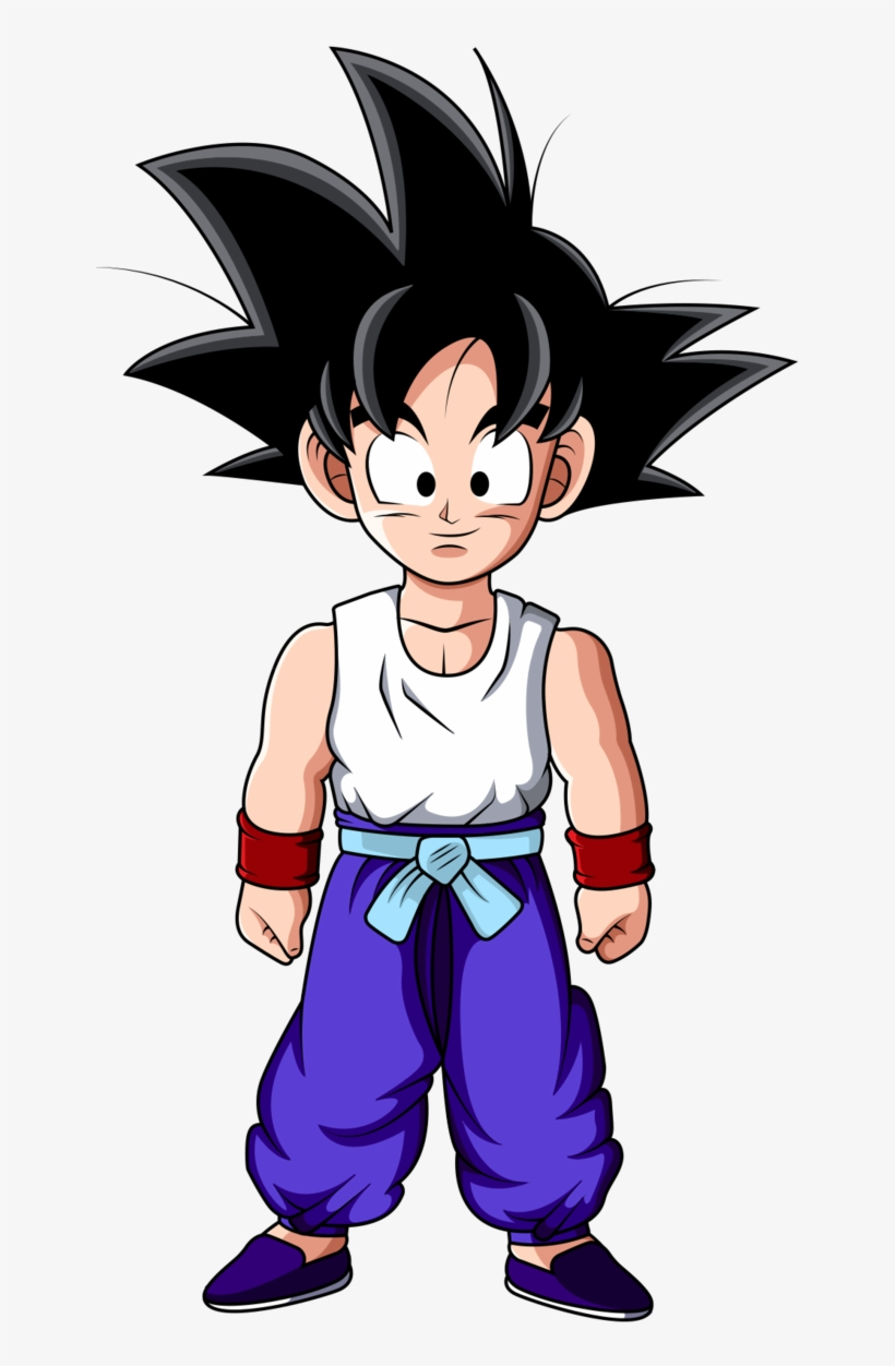 Kid Son Goku V5 Training Outfit By Ltxalex-d7pxpl3 - Son Goku Kid Png, transparent png #435980