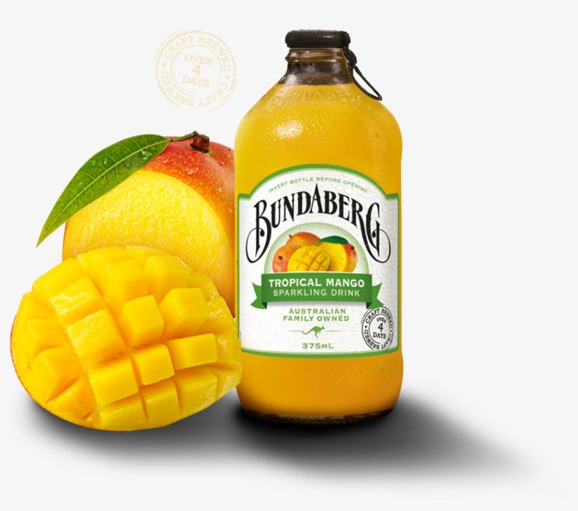 Bundaberg Brewed Drinks Tropical Mango, transparent png #436664