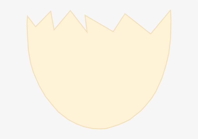 Crack Vector Broken Circle - Half Egg Shell Cartoon, transparent png #437209