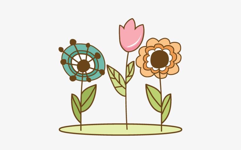Doodle Flowers Svg Cutting Files Doodle Cut Files For - Cute Flower Doodle Png, transparent png #437279