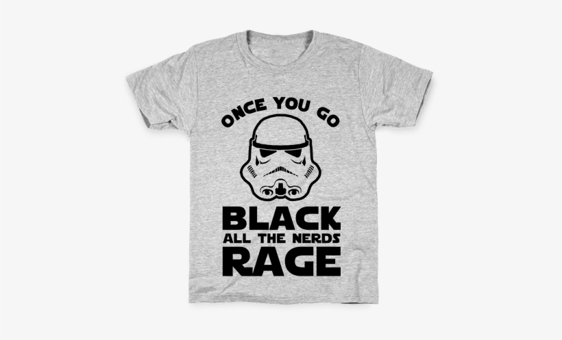Once You Go Black The Nerds Rage Kids T-shirt - T-shirt, transparent png #438267