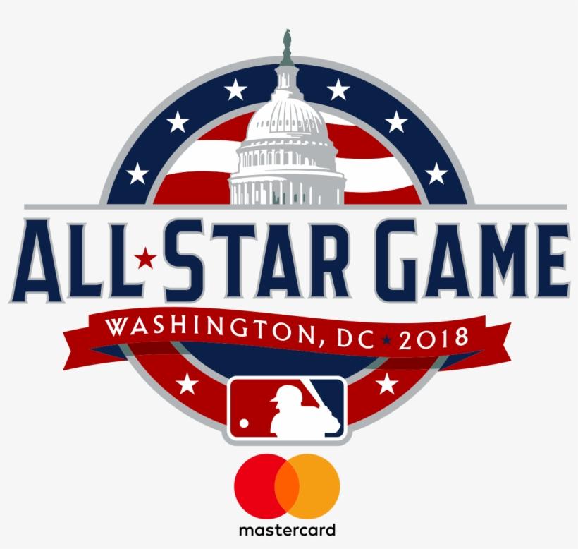 Mlb All Star Game Logo - Mlb All Star Game 2018 Logo Png, transparent png #438290