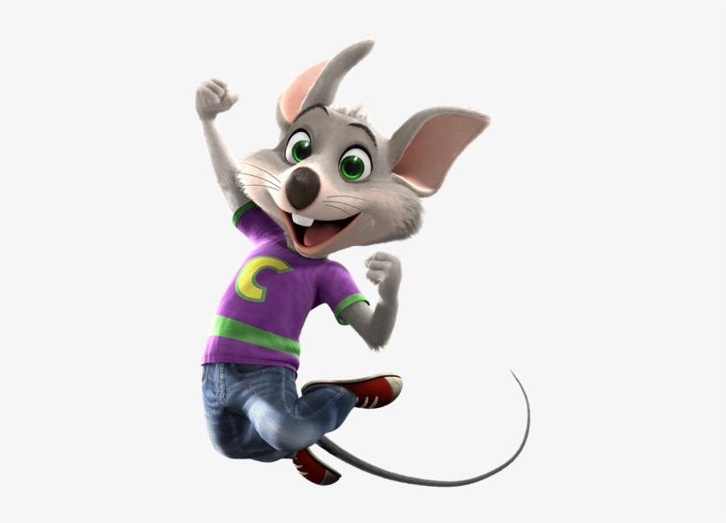 Jumping For Joy - Chuck E Cheese, transparent png #438405