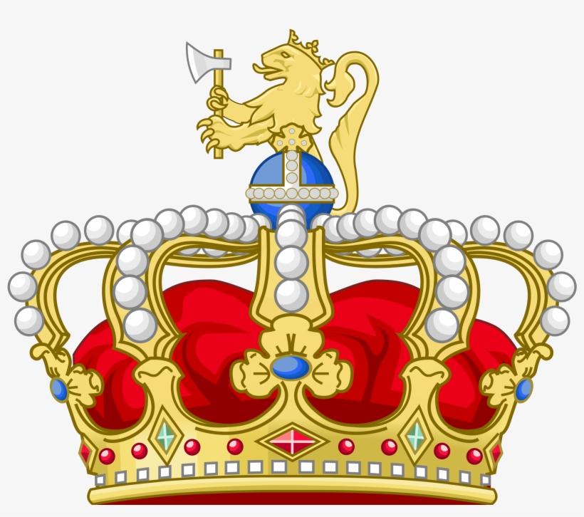 Norwegian Royal Crown - Crown Of Norway, transparent png #438881