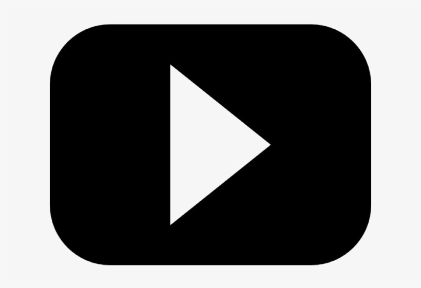 Youtube Play Button Png Download Image - Youtube Png Black Transparent, transparent png #438998