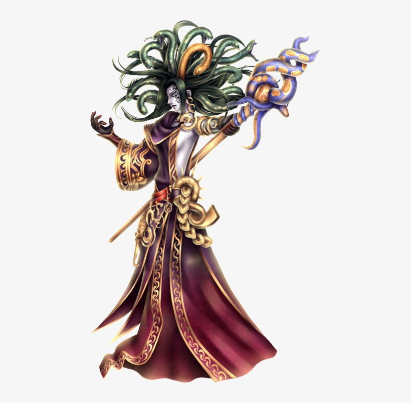 Can Anyone Find A 3d Render Of Medusa From Kid Icarus - Medusa Super Smash Brawl, transparent png #439023