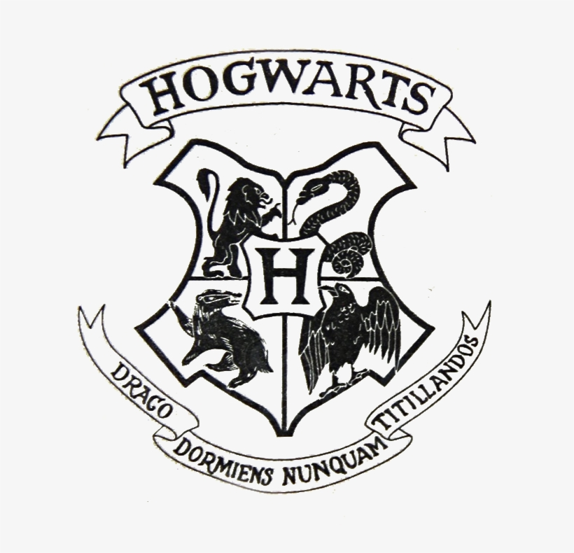 Transparent Hogwarts Crest File From A Harry Potter Transparent