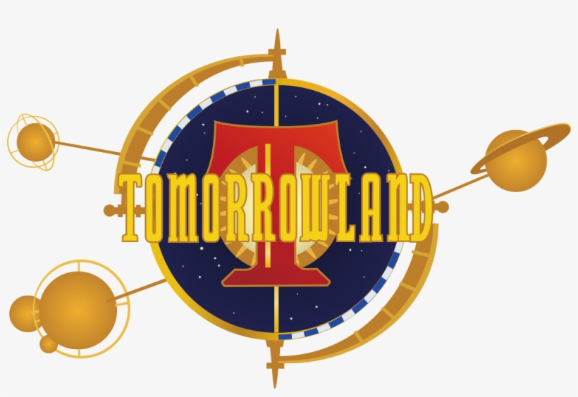 Tomorrowland Logo - Tomorrowland Logo Disney World, transparent png #439477