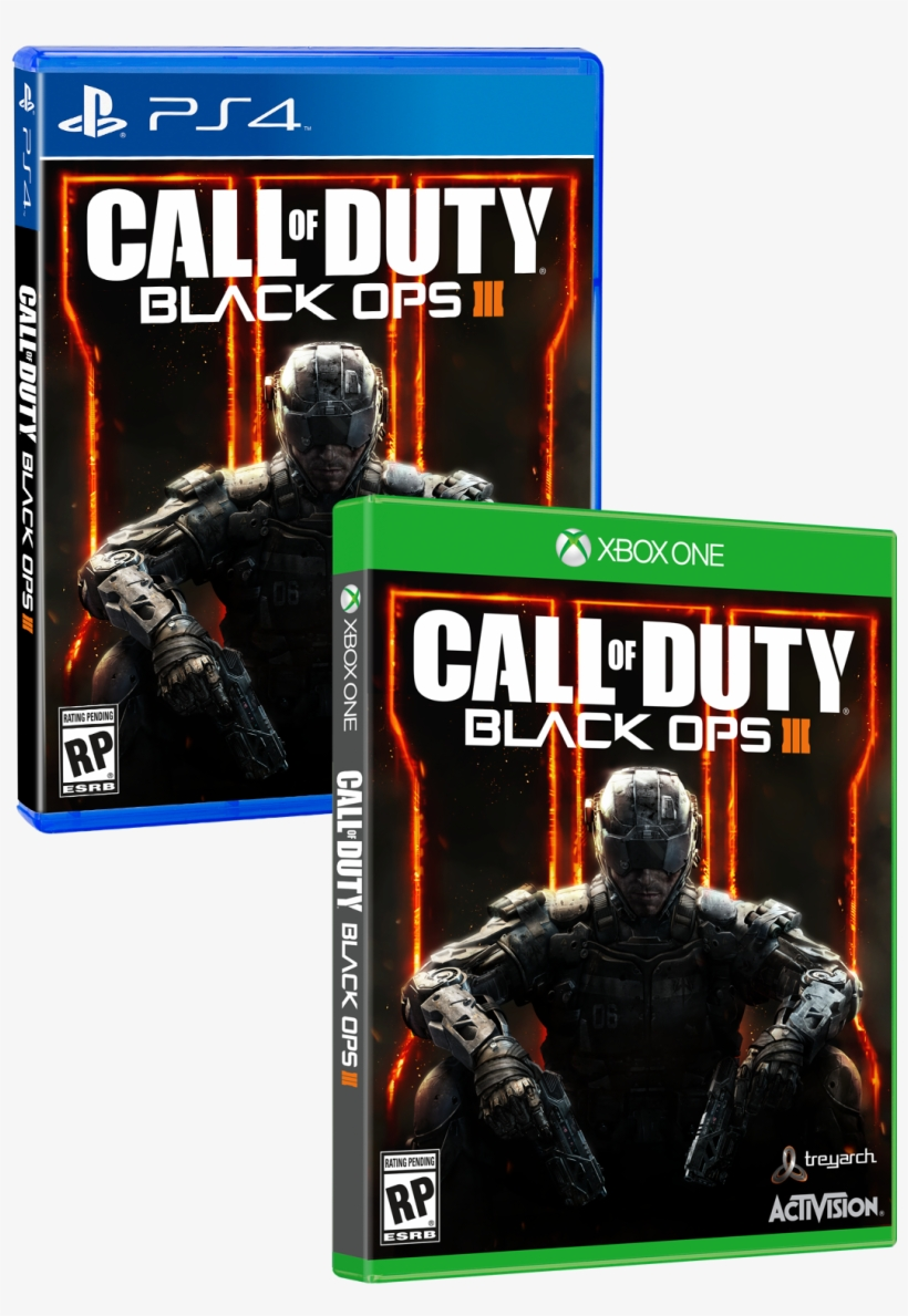 Arriving On November 6, 2015 - Call Of Duty Black Ops 3 [xbox One Game], transparent png #439479
