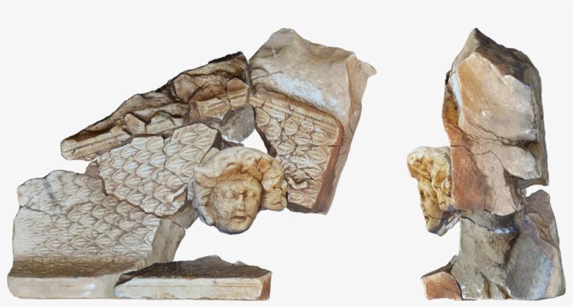 Medusa Sculpture Digital Reconstruction - Woman's Head (fernande), transparent png #439814