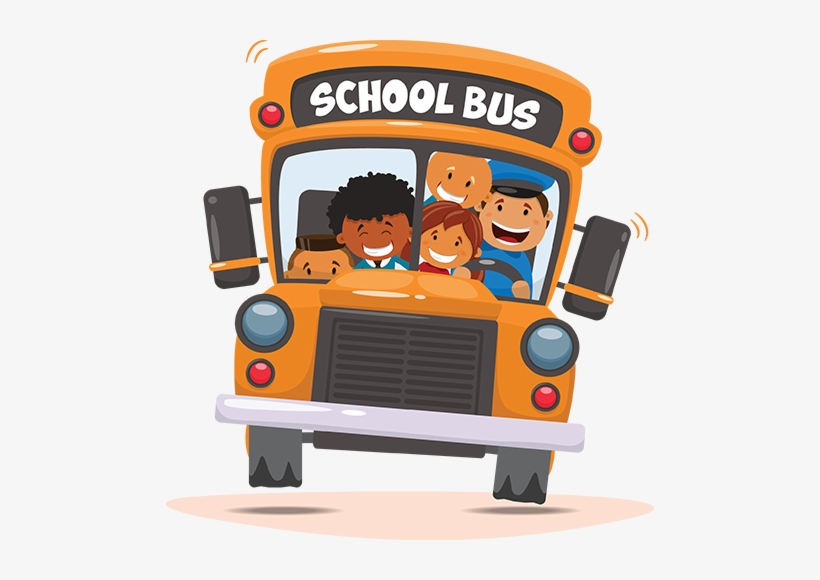All Ocis Buses Drop Students Off For The Start Of The - School Bus Png, transparent png #4304210