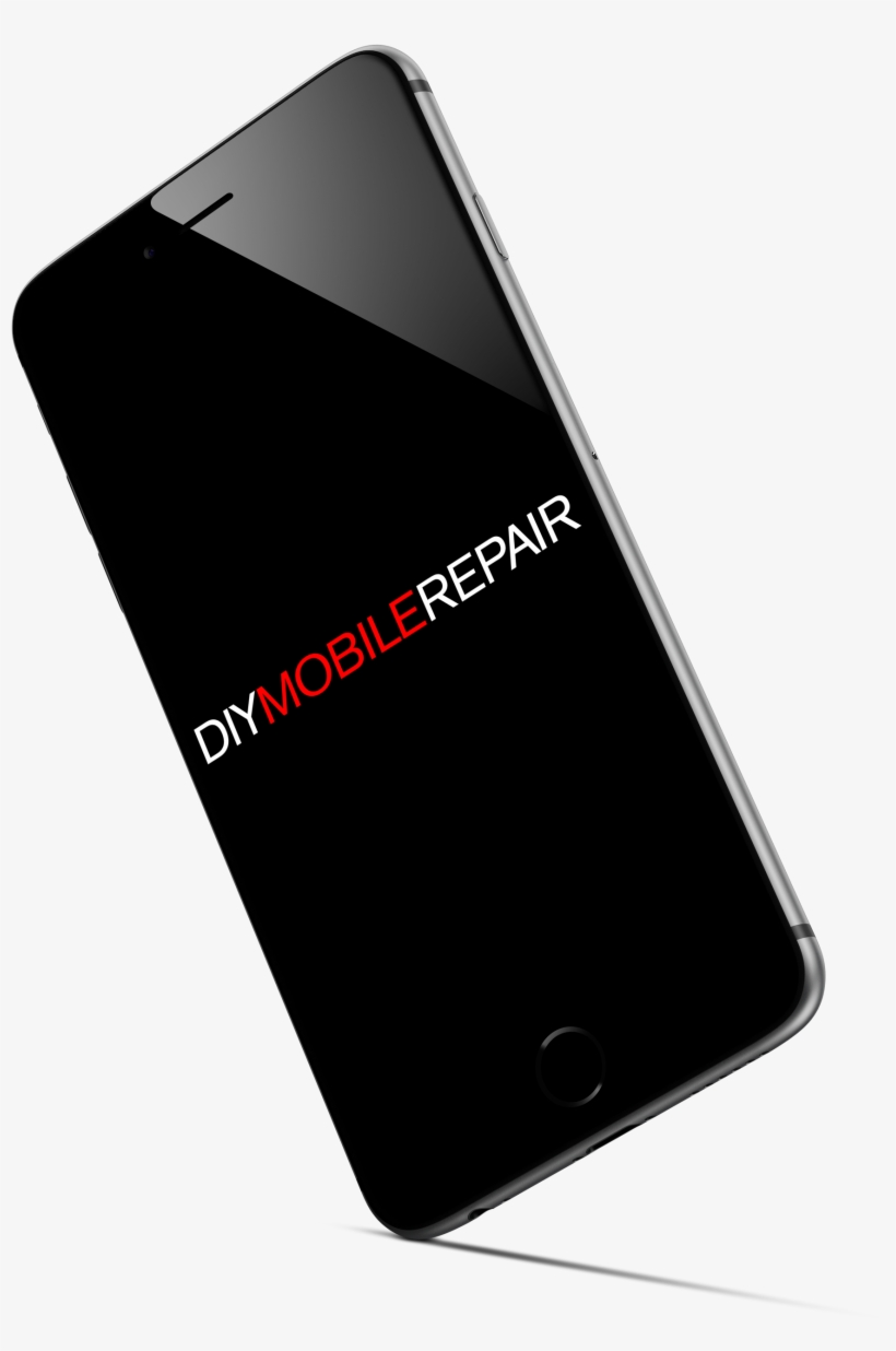 Cracked Phone Screen Png Download - Mobile Phone, transparent png #4307456