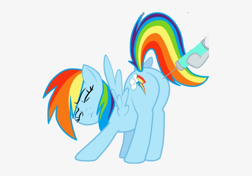 Sersys, Eyes Closed, Face Down Ass Up, Frown, Needle, - Mlp Rainbow Dash Plot, transparent png #4308066