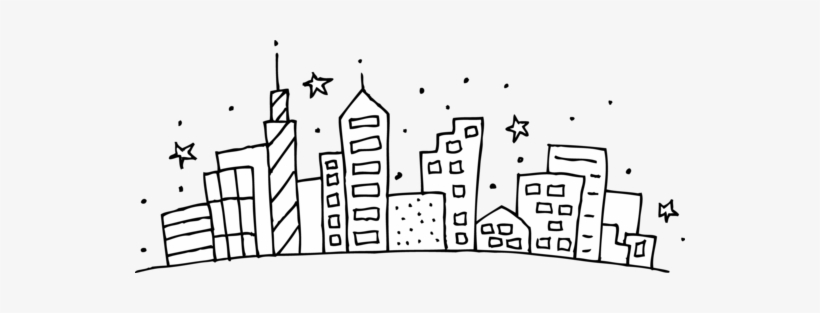 New York Skyline Coloring Page New Skyline Coloring - City Scape Clipart -  Free Transparent PNG Download - PNGkey
