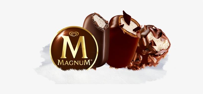 Magnum Ice Cream Bars - Magnum Ice Cream Png, transparent png #4312772