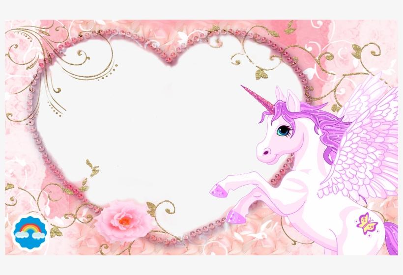 Unicorn Photo Frame Png, transparent png #4314018