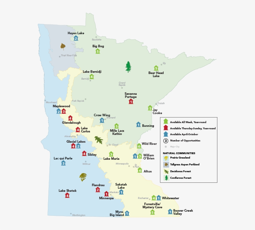 Minnesota Map Png.Camper Cabin Locations Minnesota Map Pdf Free Transparent Png