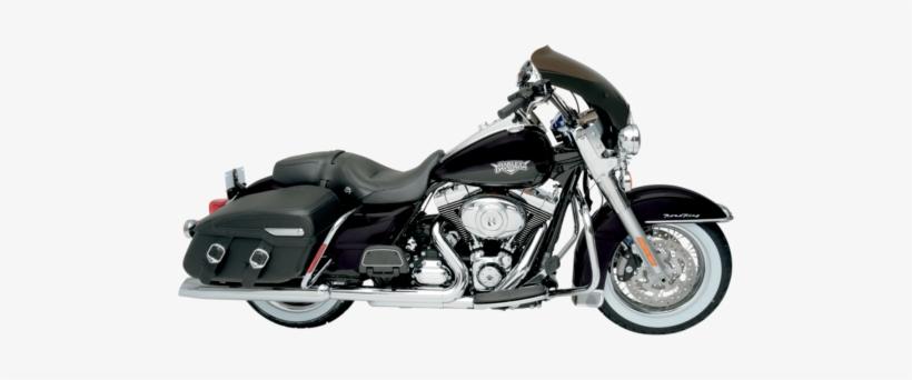 Memphis Shades Hd Black Bullet Fairing 94-17 Harley - Harley Davidson With Radio, transparent png #4314962