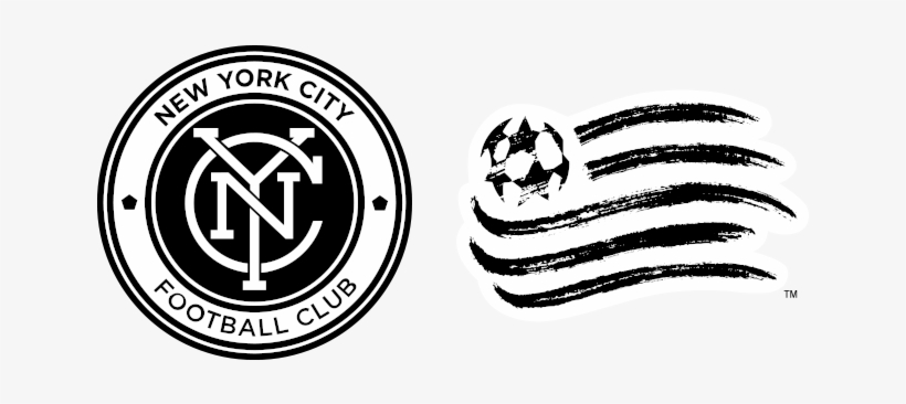 Nycfc New England - Print: New York City Football Club Logo, 20x16in., transparent png #4319758