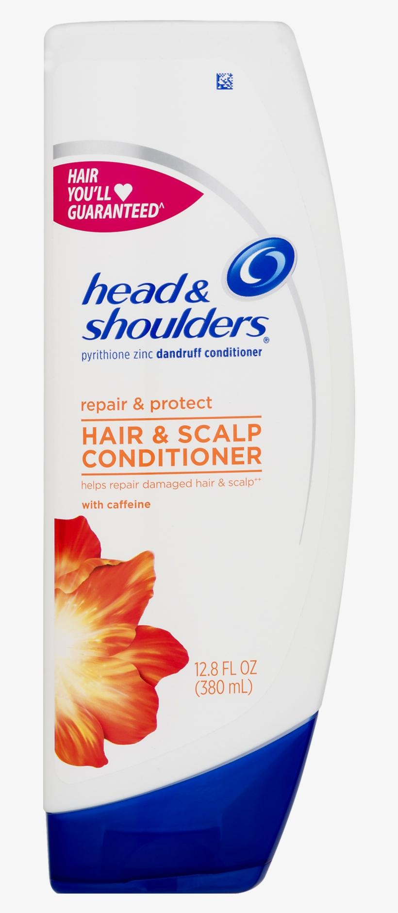 Head & Shoulders® Repair & Protect Hair & Scalp Dandruff - Head - Shoulders Dry Scalp Care Dandruff Conditioner, transparent png #4320190