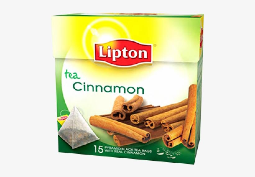 Lipton Pyramids Cinnamon 15 Packs - Lipton Cold Brew Family Size Iced Tea Bags Black 66, transparent png #4320417
