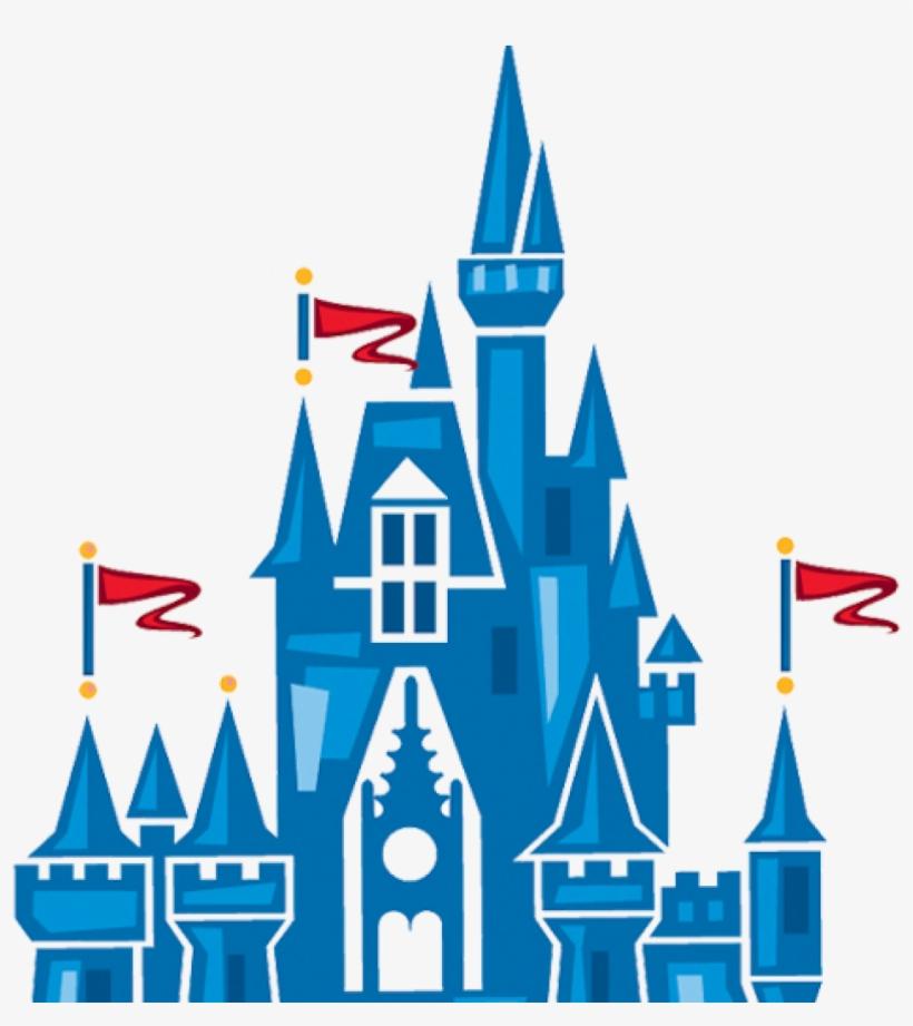 Cinderella Castle Clipart Image Of Disney 12272 History - Disney Magic Kingdom, transparent png #4320839