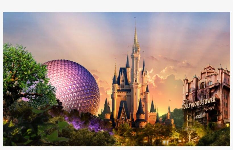 -opened October 1, - Walt Disney World, transparent png #4321354