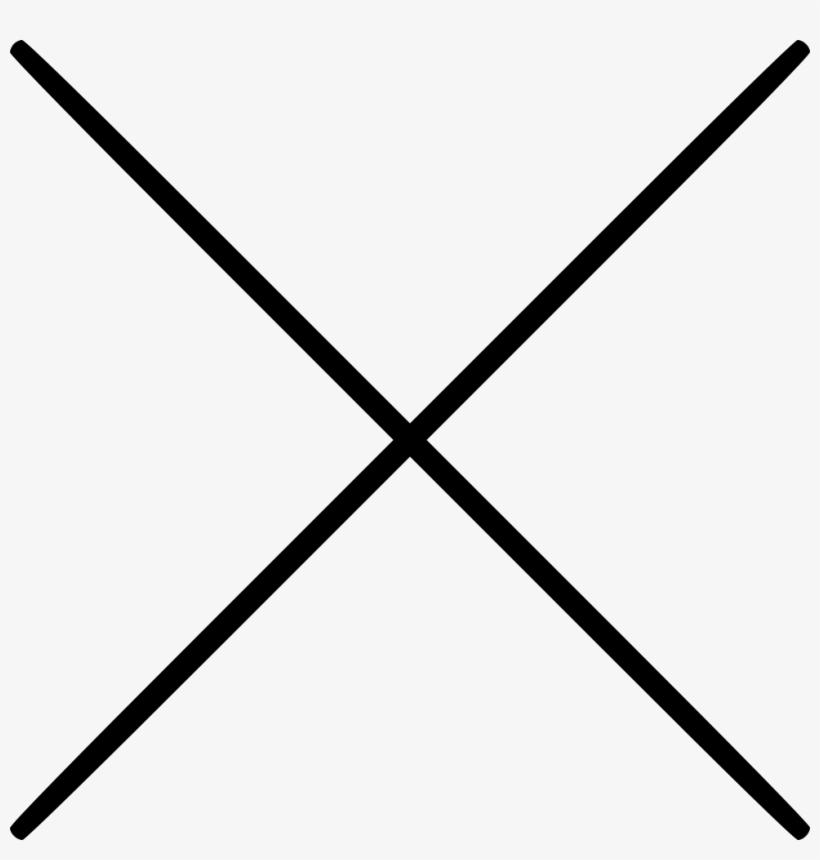 Cancel Close Cross Delete For Multiplication Remove - Cross Maths, transparent png #4322160