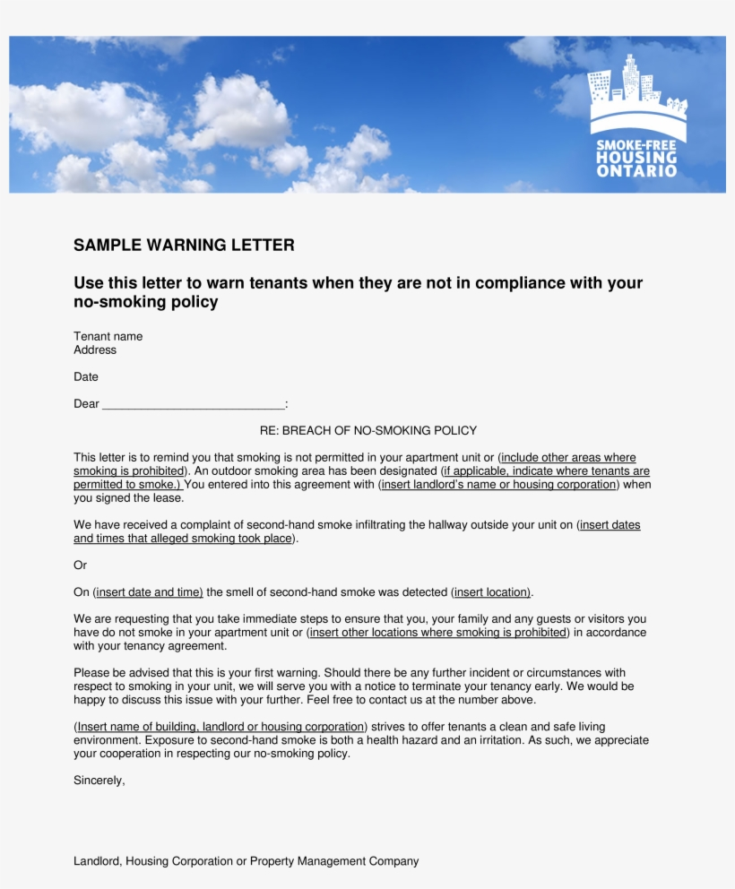 complaint letter to tenant from landlord - Hizir kaptanband co