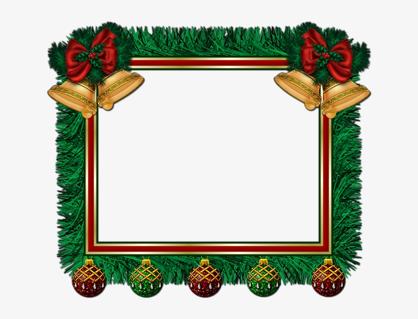De Nuria D • Publicado En Marcos Para Fotos De Navidad - Christmas Holly Borders And Frames Png, transparent png #4328594