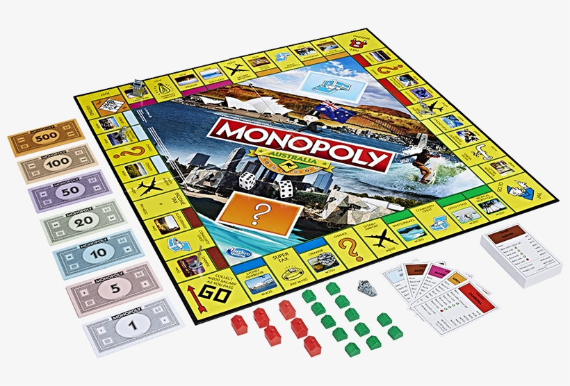 Somebody Just Requested A Restoration Of Monopoly Australia - Monopoly Board Game Australia, transparent png #4329899