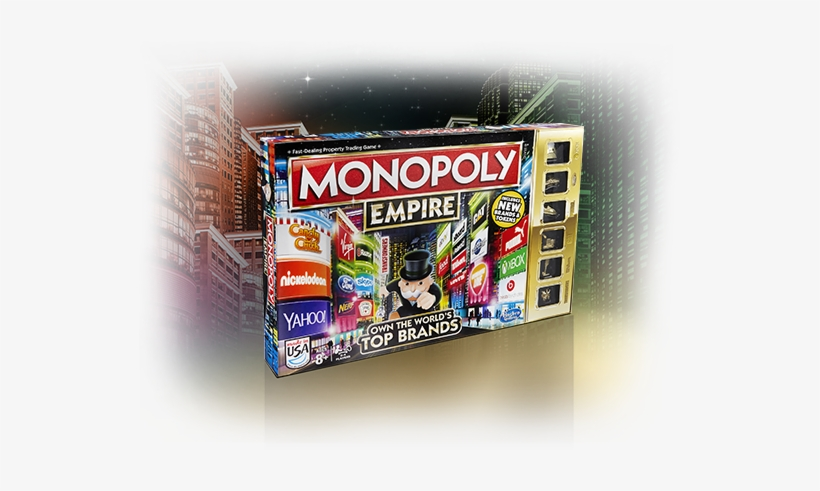 Monopoly Empire Edition Game - Hasbro Gaming Monopoly Empire Board Game, transparent png #4330213
