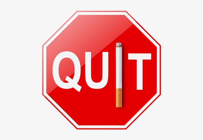 Quit Smoking Sign - Help Stop Smoking Sign, transparent png #4331117
