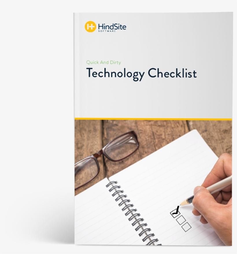 Get The Checklist - Document, transparent png #4334592