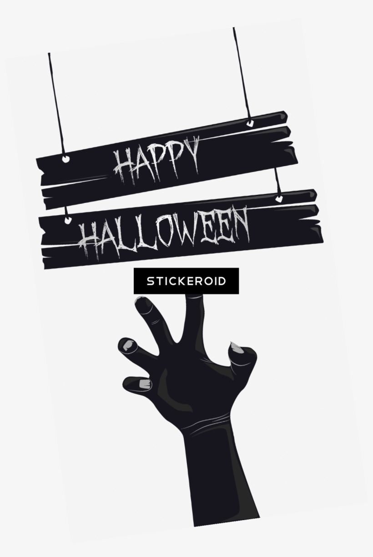 Happy Halloween - Happy Halloween Text Png, transparent png #4339609