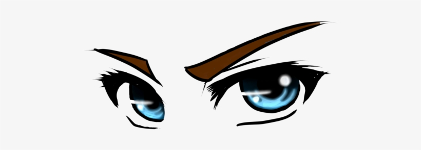 Anime Eyes - Anime Girl Eyes Png, transparent png #4340000