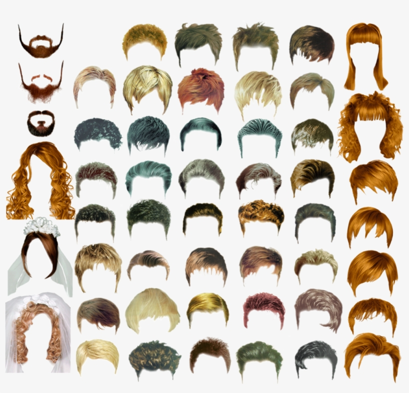 Best Hairs Png Pack - Indian Hair Style Gents, transparent png #4340484