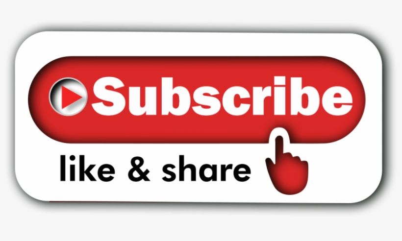 Free Download Round Subscribe Button Png High Quality - Subscribe Button Png Transparent, transparent png #4341631