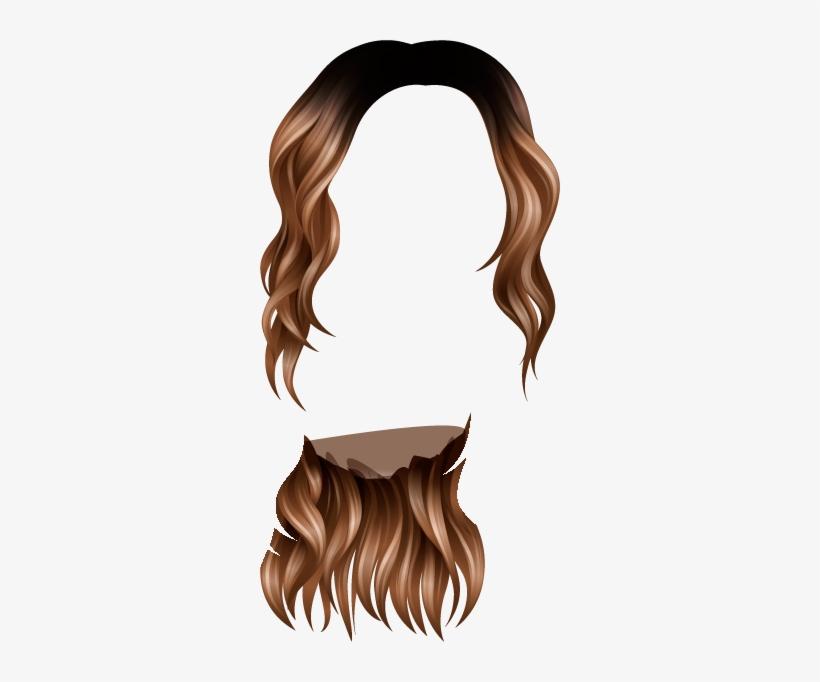 Jesus Hair Png Image Stock - Momio Hair No Edit, transparent png #4343003