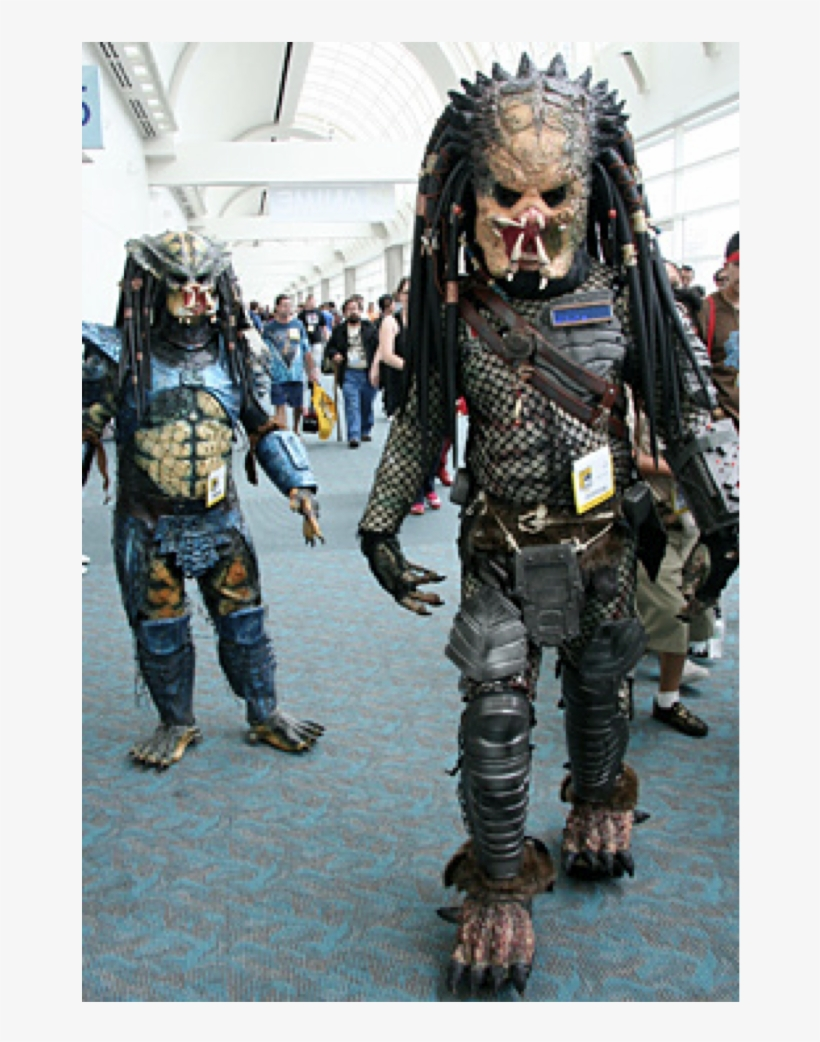 Monsters Like Walking Amongst The Other Socially Outcast - Comic Con Masquerade, transparent png #4346207