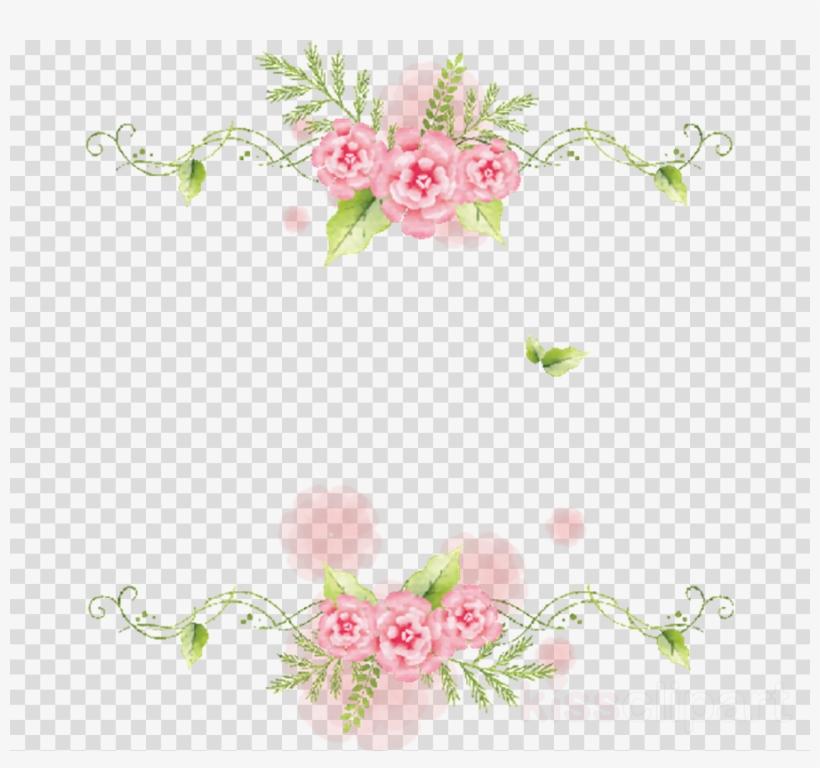 Bordes De Flores Png Clipart Floral Design Flower Marcos De Flores