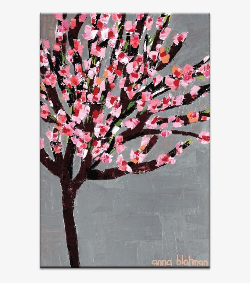 Blossom Tree - Blossom Tree Wall Art Framing / Size: Framed - 51 X, transparent png #4353399