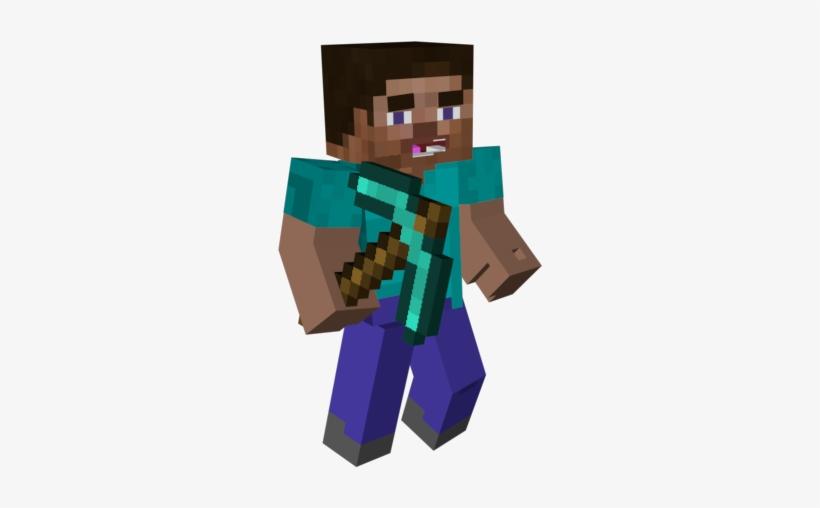 Minecraft Steve 3d Png Steve Minecraft 3d Png Free Transparent Png Download Pngkey