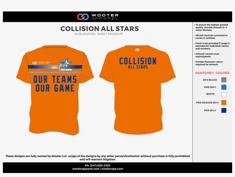 Collision All Starts Orange Blue Gray White Custom - Basketball Uniforms Redesign Nba, transparent png #4357847