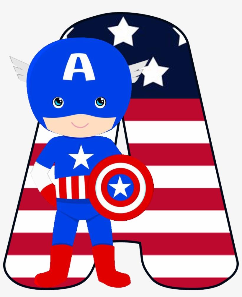 Capitao America Cute Png Convite Capitao America Para Imprimir