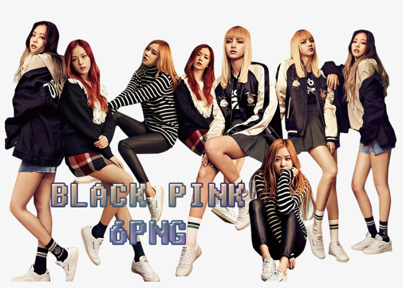 Black Pink Png Pack {reebok} By Kamjong-kai - Pack De Black Pink, transparent png #4360271